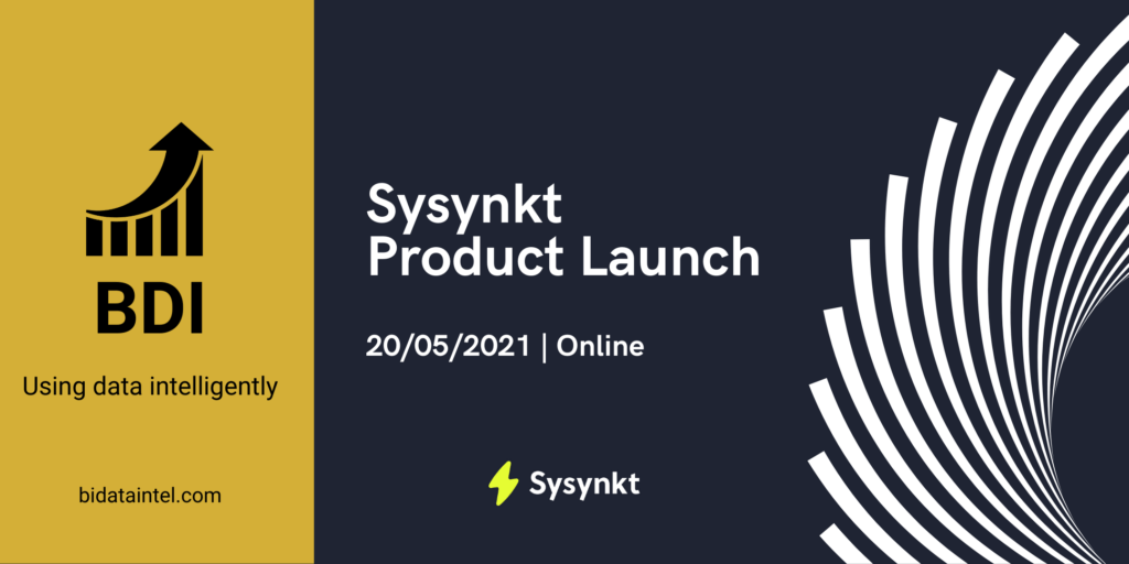 Graphic announcing the preview event with Sysynkt