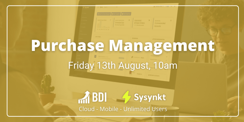 purchase management is one of the focal points of the new fms webinar series from BDI