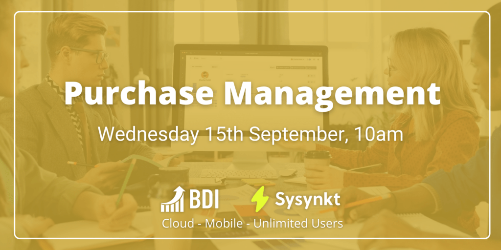 bdi has added a new purchase management webinar to meet increased demand