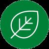 Environmentally conscious badge